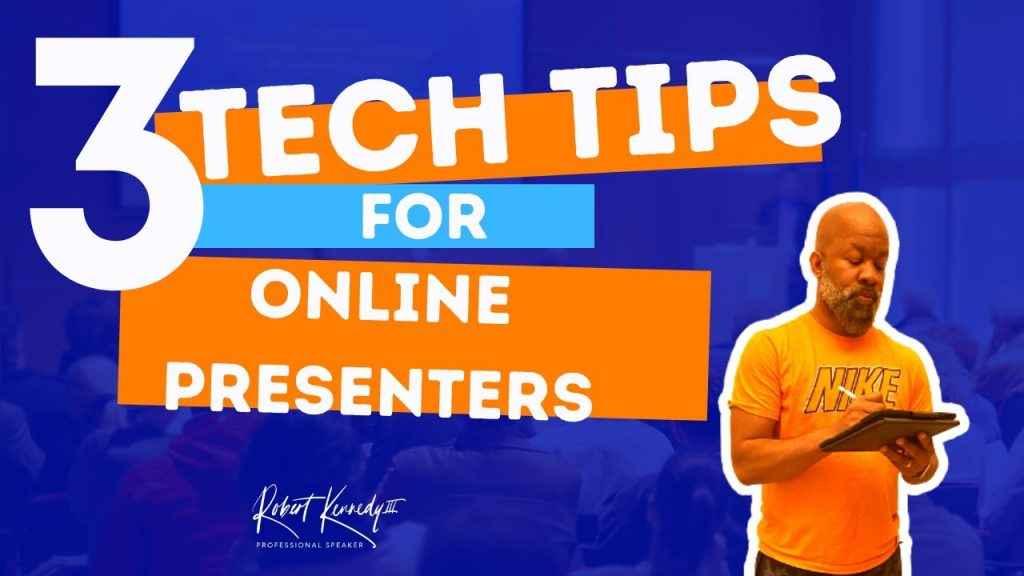 3 Tips For Great Online Presentations | Tech Tools & Ideas for Public Speaking & Presenting Online