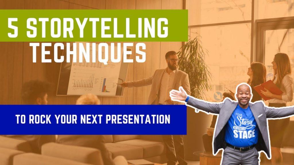 5 Storytelling Tips To Make You A Presentation Rockstar
